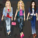 Barbie Denim Style